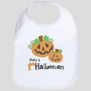 [Babys] 1st Halloween - PERSONALIZE IT! Bib